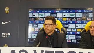 """Conferenza Di Francesco post Verona: """"Ho visto qualche atteggiamento diverso dopo questo mercato"""""""