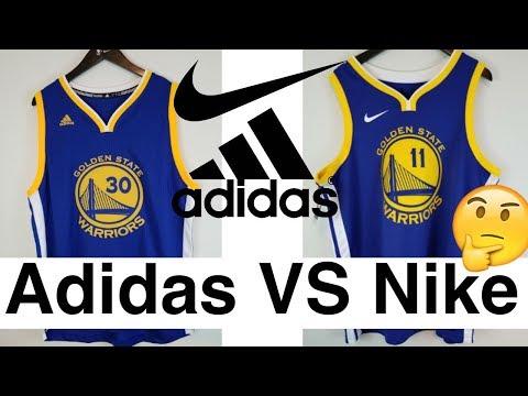 Adidas vs Nike NBA Jerseys Which one is better?  ナイキとアディダスのNBAユニフォーム徹底比較