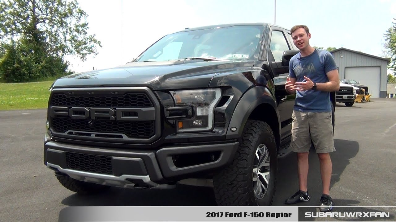 F 150 Ford Truck >> Review: 2017 Ford F-150 Raptor - YouTube