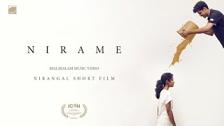 Nirame Nirame song(2016) | Nirangal Malayalam short film | Music Video HD