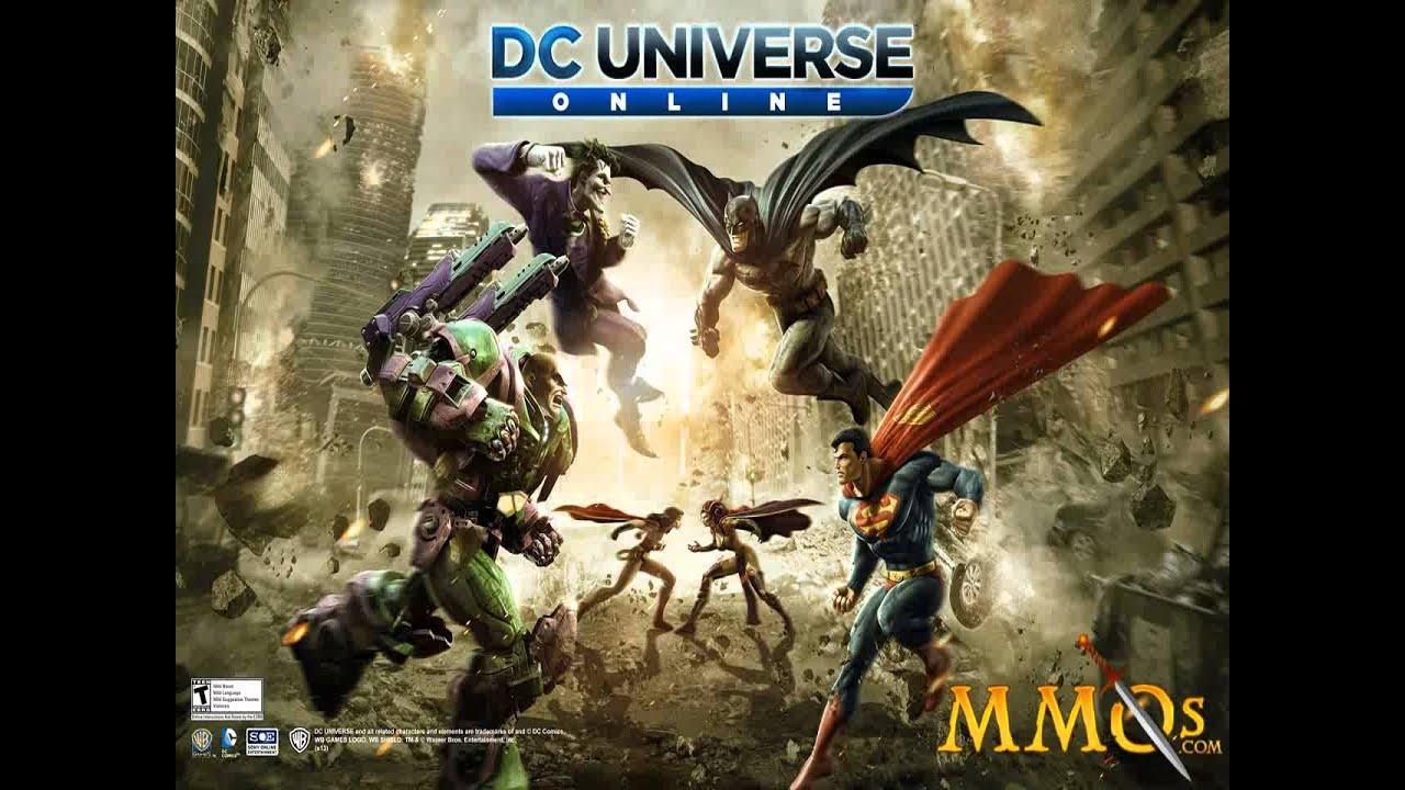DC Universe Online - 8th Precinct Interior Bgm 1 - YouTube