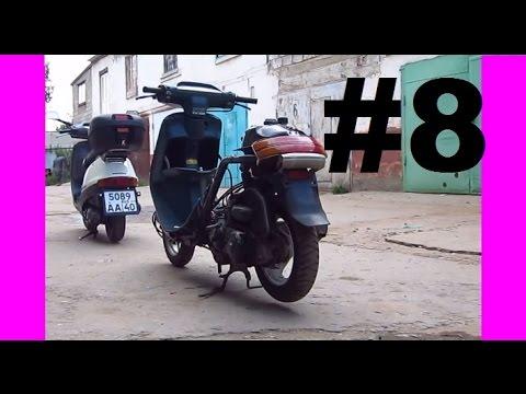 Ремонт скутера Honda Tact 24. Часть 8. Сборка мотора HF05E (Ч.2)