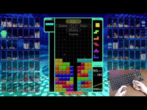 Tetris 99 Battle Royale Win Streaks - 85 Wins Day 2