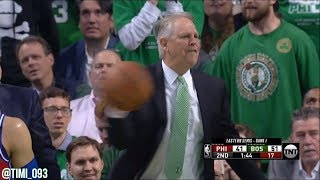 Danny Ainge gets PISSED at the refs!