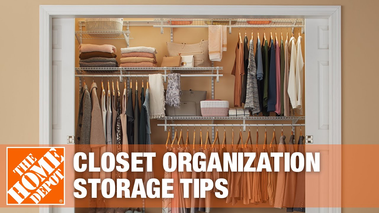 Closet Organization Ideas The Home Depot