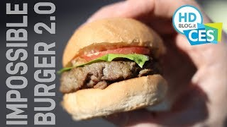 Impossible BURGER 2.0: sa di carne ma è vegetale | CES 2019