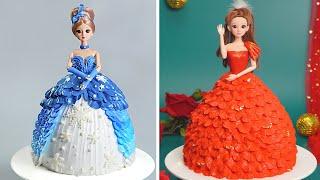 Cutest Princess Cakes Ever  Awesome Birthday Cake Decorating Ideas  So Tasty Cake Recipes