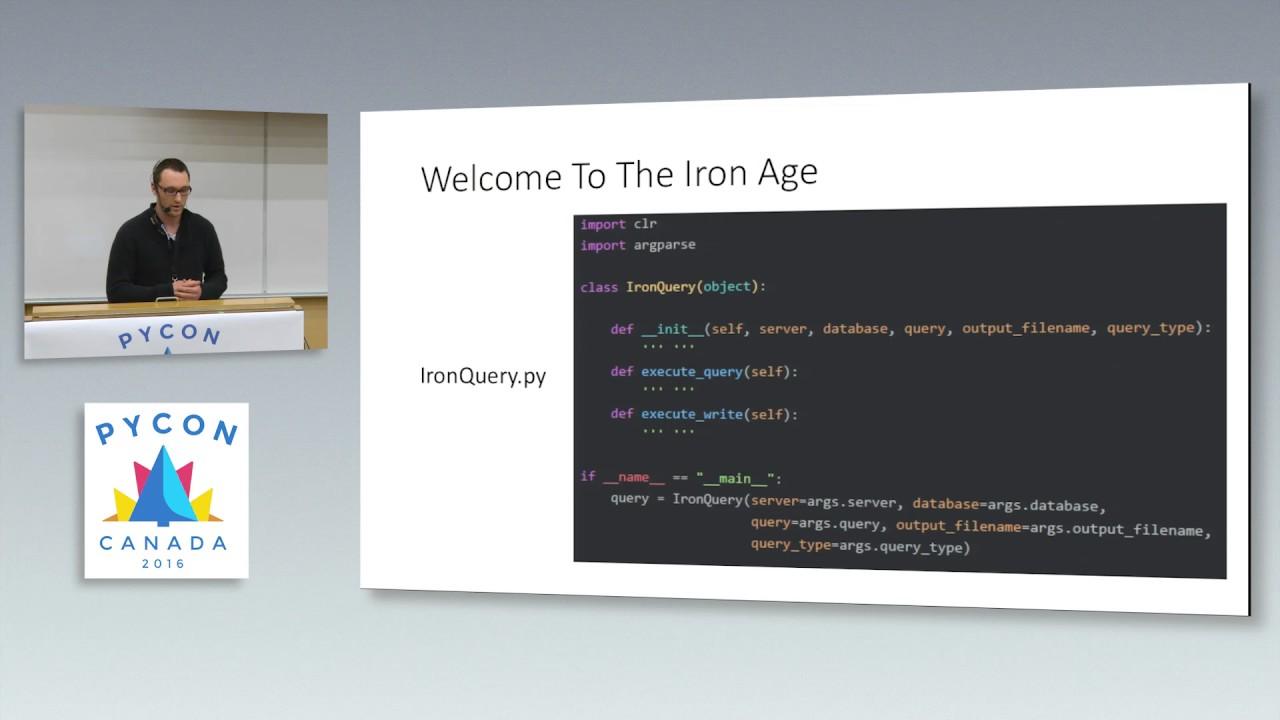 Image from Python -> Iron Python -> SQL Server