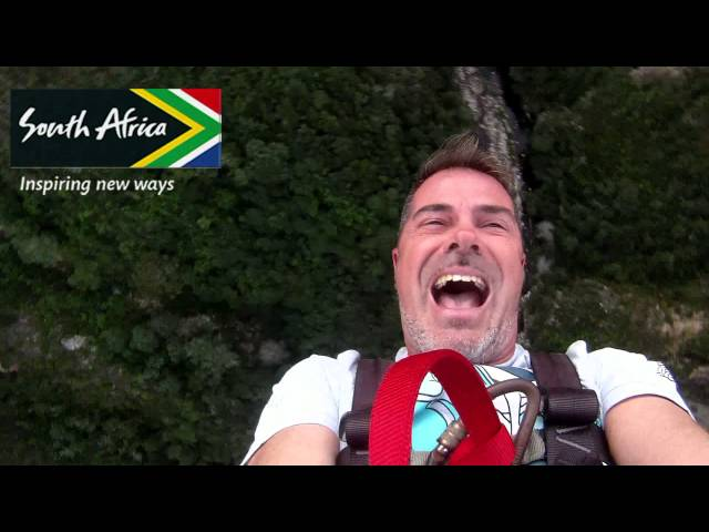 Meetsouthafrica - BUNGY JUMP VIDEO - VIAJANDO CON DIEGO Travel Video