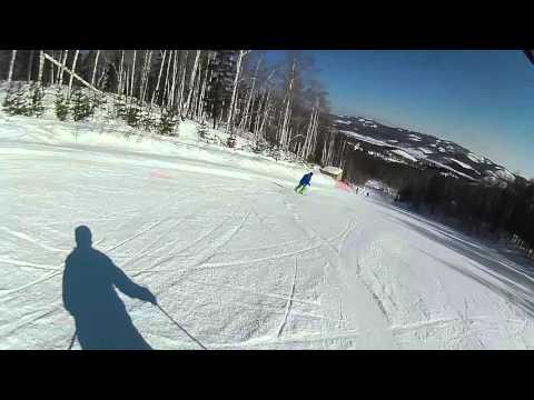 """Горно-лыжный курорт """"Абзаково"""", трасса N 11"""