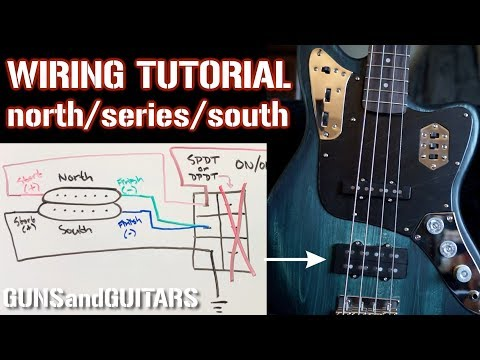 better than coil splitting! how to wire a humbucker for north series Epiphone Casino Wiring