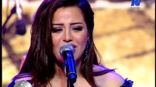 ايمان عبد الغني حفلة مهرجان الموسيقي العربية ال 25 يوم 8 11 2016