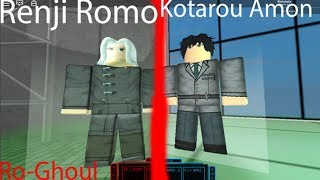 Showcase Trainers Yomo And Amon | Ro-Ghoul | Roblox