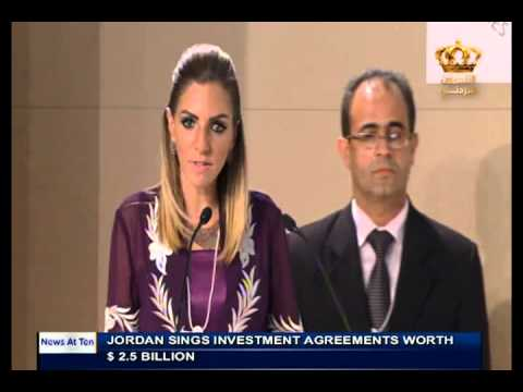English News at ten in Jordan Television 22-05-2015