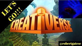 LIVE NOW (English): RobertGatesC Creativerse Stream - Talk and Game
