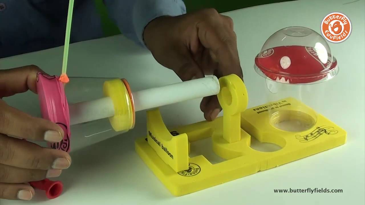 Vibrations Science Behind Sound Diy Science Projects Youtube