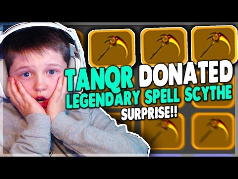 SURPRISING STREAMERS BY DONATING ALL MY LEGENDARY ITEMS | Roblox: Dungeon Quest