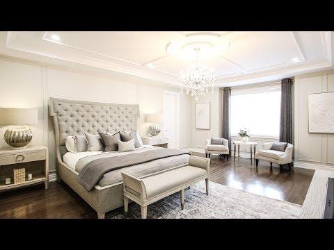 Elegant bedroom Makeover - Kimmberly Capone Interior Design
