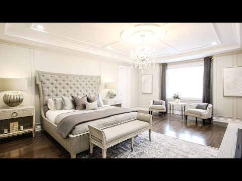 Elegant bedroom Makeover - Kimmberly Capone Interior Design