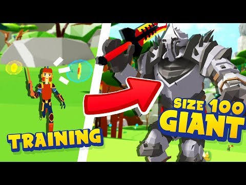 How I TRAINED To Become The BIGGEST GIANT In  Roblox Giant Simulator