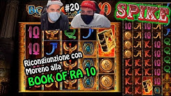 ONLINE SLOTS - The rejoining with Moreno at BOOK OF RA 10 #20