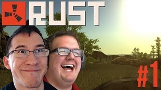LAUGHING TIL IT HURTS | Rust Gameplay #1