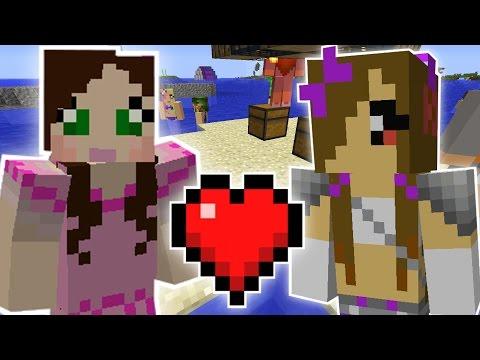 Minecraft: HOW TO GET A GIRLFRIEND QUEST - Custom Mod Challenge [S8E3]