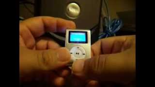 How to operate your MINICLIP Mini Clip MP3 Player with LCD Screen