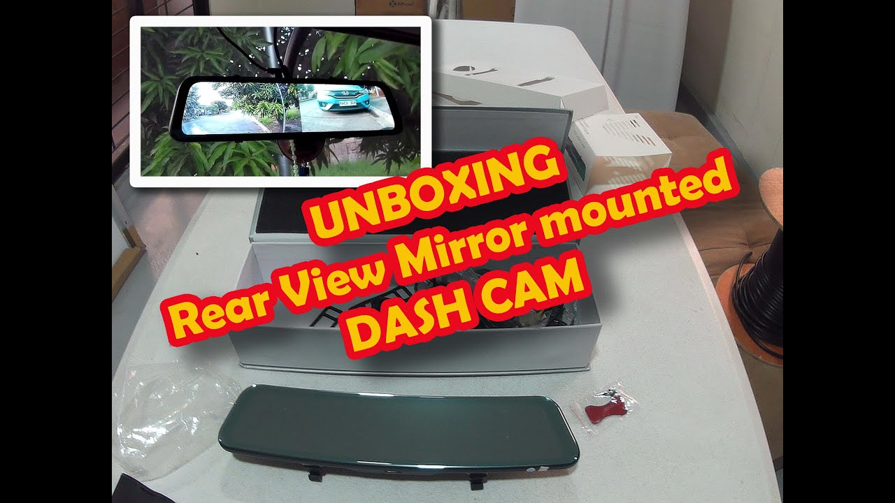 Download Good Quality Dash Cam - Anytek A9 rearview mounted dash cam