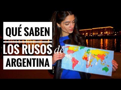 """""""Qué saben LOS RUSOS de...?""""   ARGENTINA"""