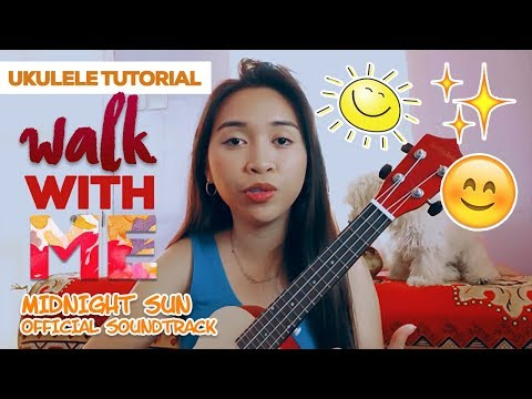 Walk With Me (Bella Thorne)- Ukulele Tutorial   Jaytee Taquiso
