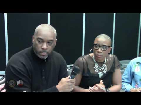 Aisha Hinds Speaks On Harriet Tubman Role In Underground TV