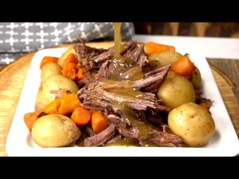 Easy Crock Pot Roast Recipe