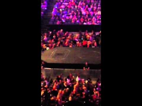 Believe Tour stage in Omaha Nebraska