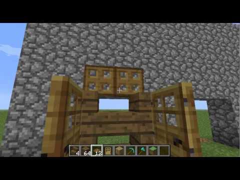 minecraft how to make a wardrobe closet youtube. Black Bedroom Furniture Sets. Home Design Ideas
