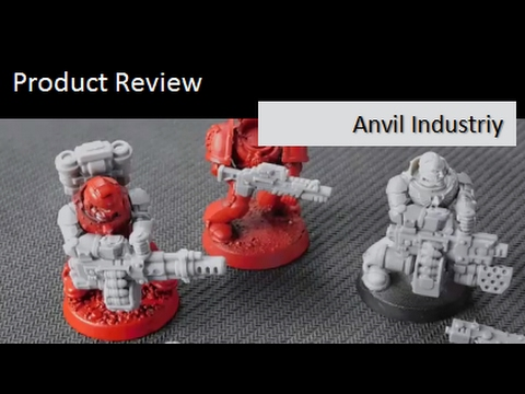 warhammer 40k product review anvil industries death watch space