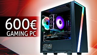 Der KRASSESTE 600 Euro Gaming PC 2020 (RGB POWER!!!)