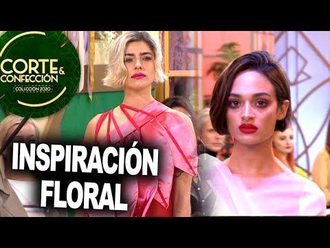 Corte Y Confeccion Programa 21 05 20 Desafio Inspiracion Floral Youtube