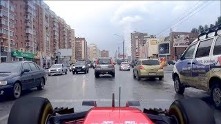 Формула 1 по улицам города!!!