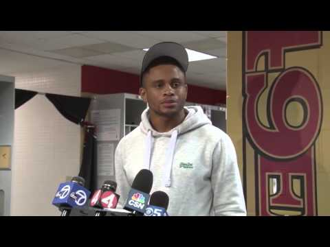Nnamdi Asomugha Press Conference