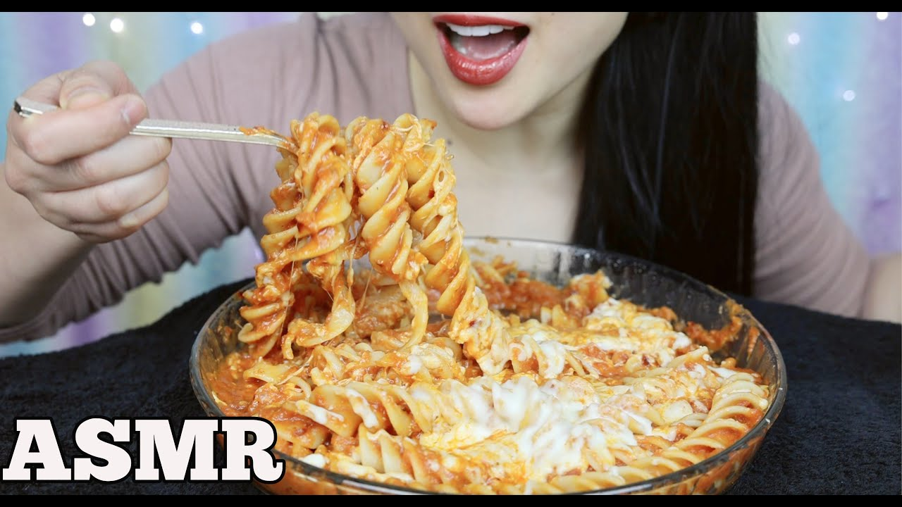 Asmr Extra Cheesy Extra Long Corkscrew Pasta Eating Sounds No Talking Sas Asmr Youtube Check out this biography to know her birthday, family life, achievements and. asmr extra cheesy extra long corkscrew pasta eating sounds no talking sas asmr