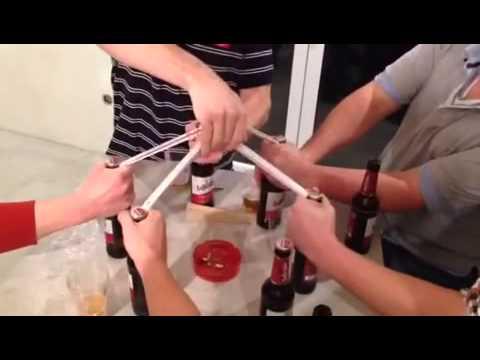 5 Bier mit Meterstab - Zollstock öffnen. Handwerk LomexBau! Because i'm Happy