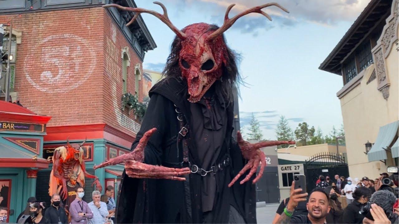 Opening Scaremony 2021 Halloween Horror Nights   Universal Studios Hollywood