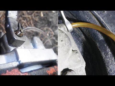 ПРАВИЛЬНАЯ ПРОКАЧКА тормозов ВАЗ передний привод (LADA 2108-12)