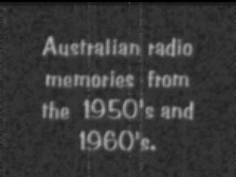 50s and 60s Australian radio memories