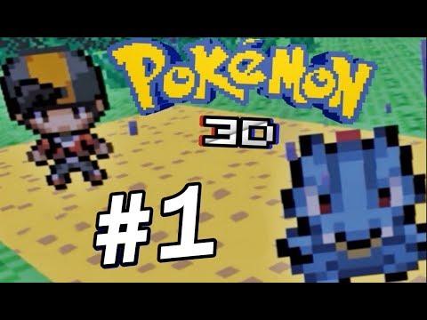 POKÉMON GOLD EM PRIMEIRA PESSOA ??? - Pokémon 3D - #1 !!!