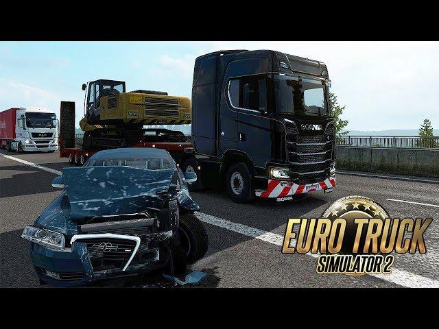 DISTRATTO IN AUTOSTRADA - EURO TRUCK SIMULATOR 2 GAMEPLAY ITA