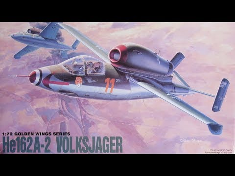 Dragon Heinkel He 162 Volksjäger 1/72 review