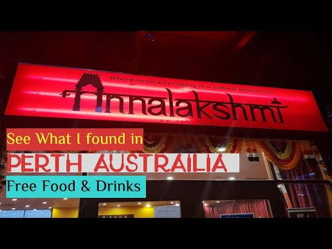 Annalakshmi in Perth Austrailia | Free Food & Drinks | Cabin Crew layover | Mamta Sachdeva | Travel