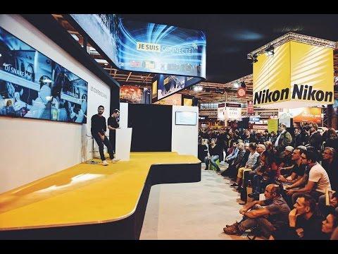 Conférence d'Anthony Ghnassia sur le Stand NIKON / Salon de la photo 2015